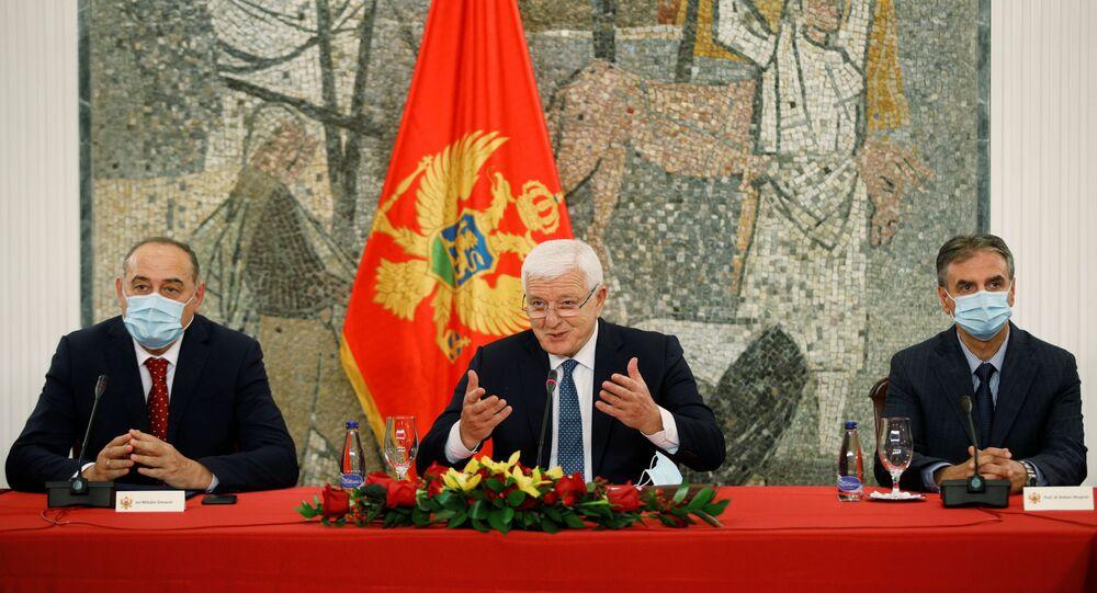 رئيس وزراء الجبل الأسود دوسكو ماركوفيتش