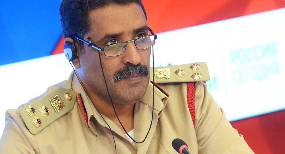 المتحدث العسكري للجيش الوطني الليبي، أحمد المسماري