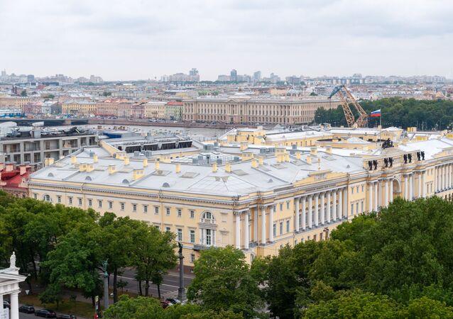 المكتبة الرئاسية باسم بورس يلتسين في مدينة سان بطرسبورغ