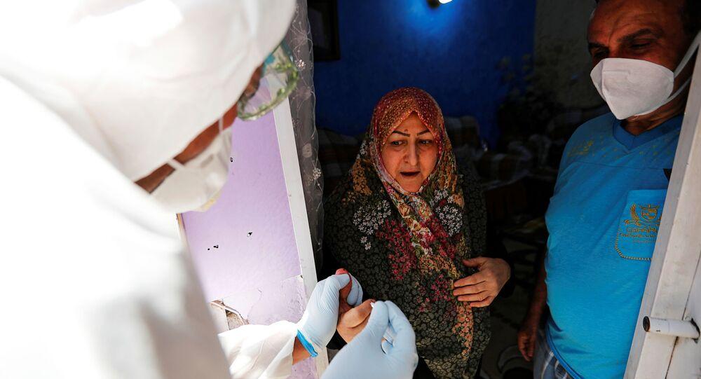 الصحة العراقية، كورونا، بغداد، العراق مايو 2020