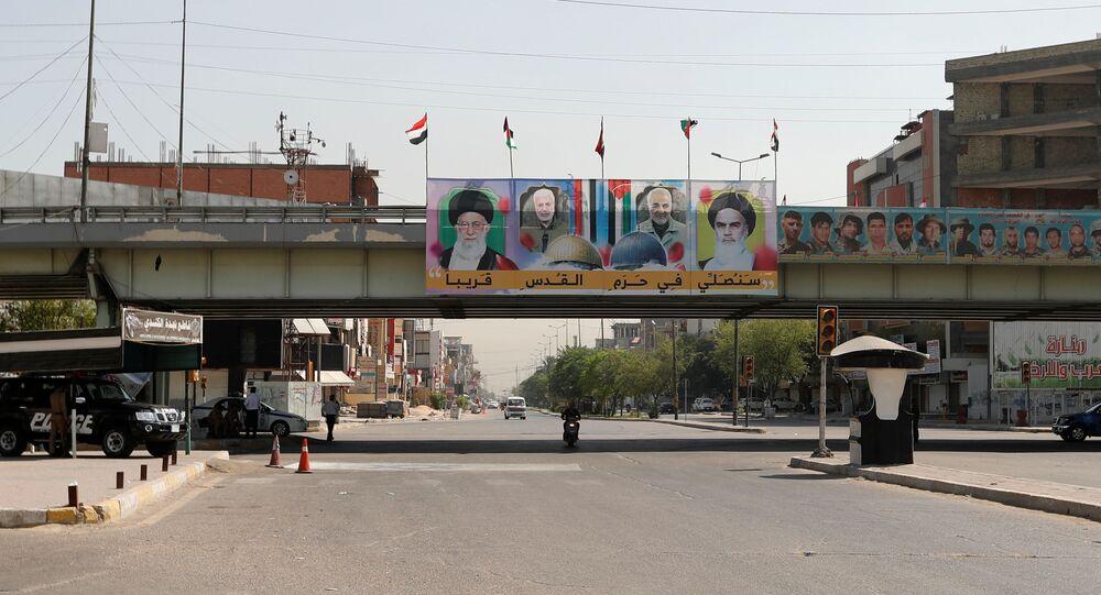 شوراع بغداد، العراق مايو 2020