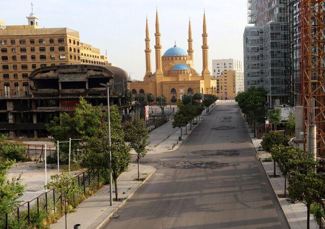 شوراع بيروت، لبنان مايو 2020