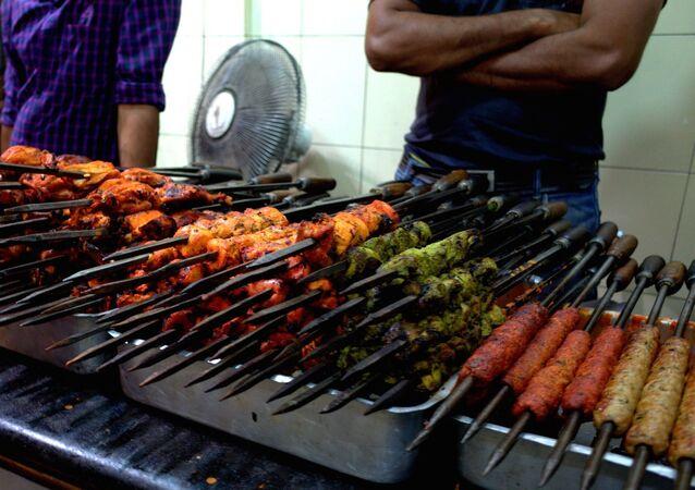 طعام الشارع في الهند