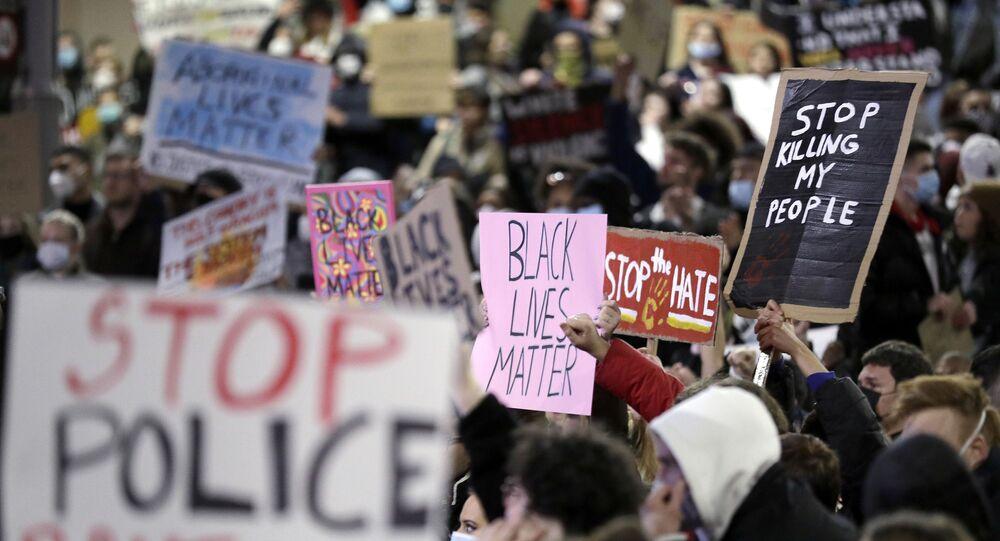 مظاهرات في أستراليا احتجاجا على مقتل الأمريكي جورج فلويد