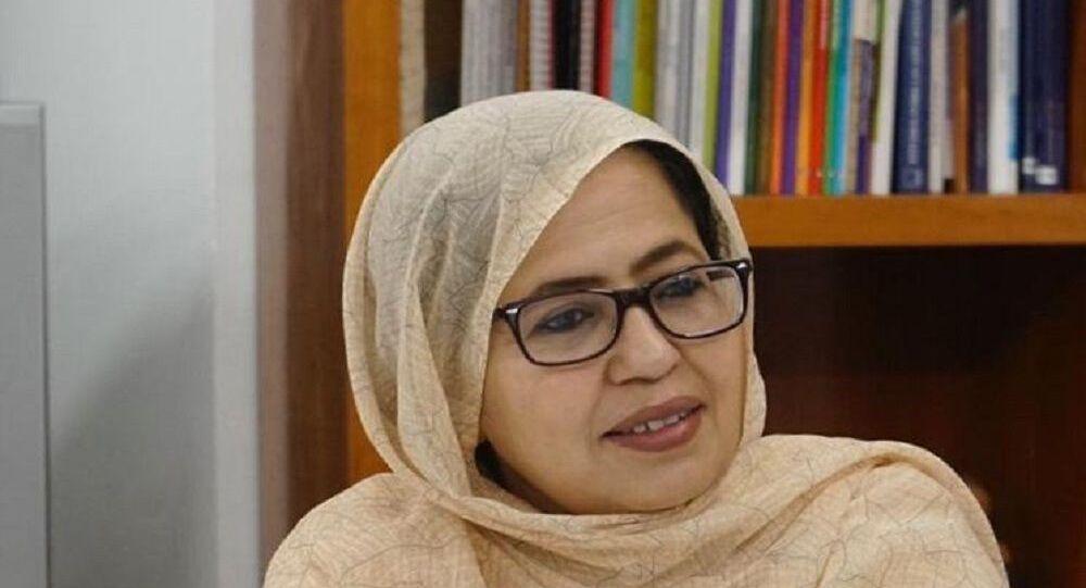 وزيرة الصحة بجبهة البوليساريو خيرة بلاهي