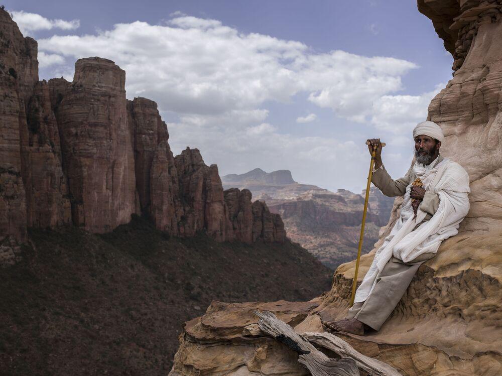 صورة بعنوان أقرب إلى الجنة في تيغراي، أثيوبيا، للمصور ماورو دي بيتيو، ضمن القائمة القصيرة من مسابقة التصوير صورة الإنسانية لعام 2020