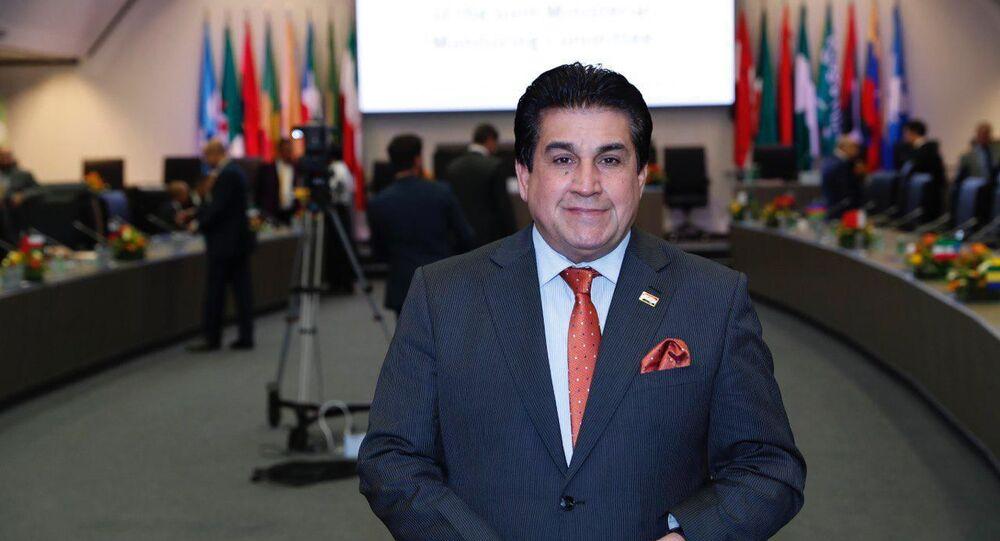 المتحدث الرسمي باسم وزارة النفط العراقية عاصم جهاد