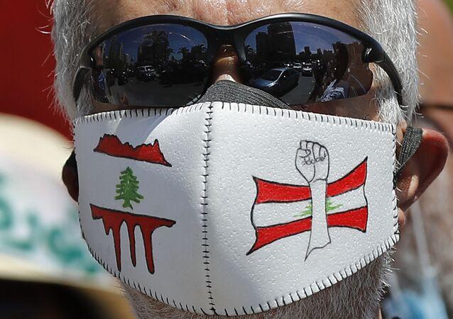 مظاهرات مناهضة للحكومة اللبنانية في بيروت