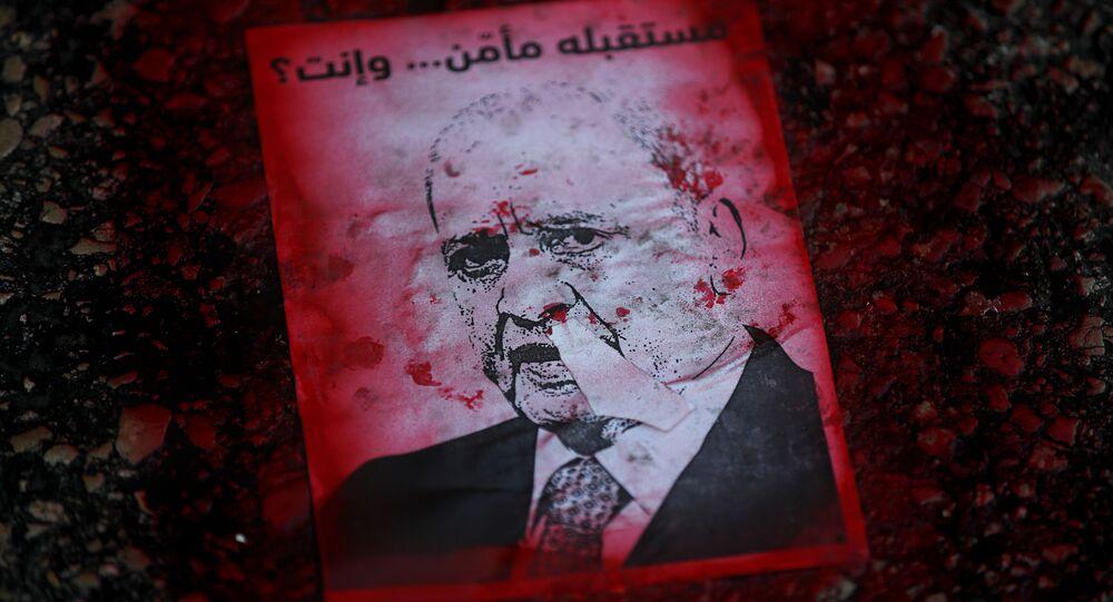 مظاهرات مناهضة للحكومة اللبنانية في بيروت، لبنان  29 مايو 2020