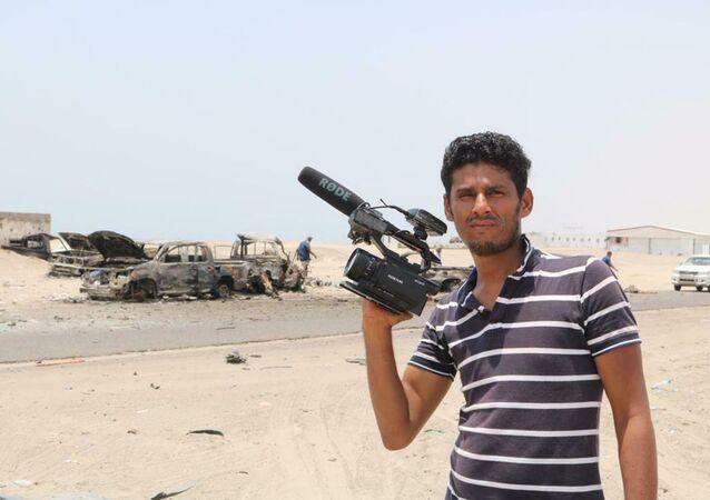 الصحفي نبيل حسن القعيطي