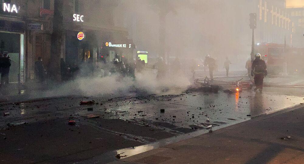 احتجاجات مناهضة للعنصرية، و عنف الشرطة، في باريس، فرنسا 2 يونيو 2020