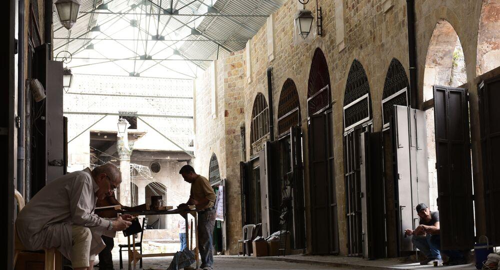 سوق الخابية في حلب القديمة، سوريا