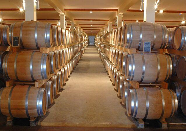 براميل النبيذ