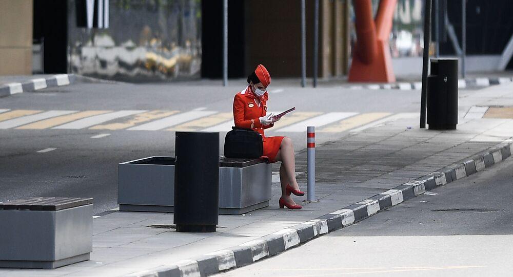عودة عمل مطار شيريميتيفو في موسكو، مع الحفاظ على الإجراءات الوقائية لمنع انتشار «كورونا»، روسيا 6 يونيو 2020