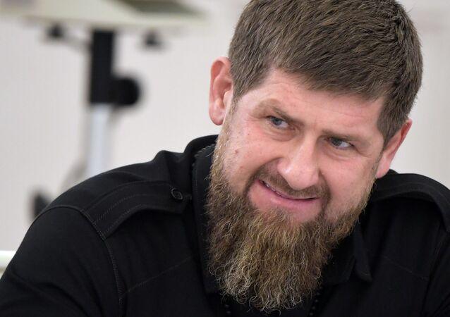 رئيس الشيشان رمضان قاديروف