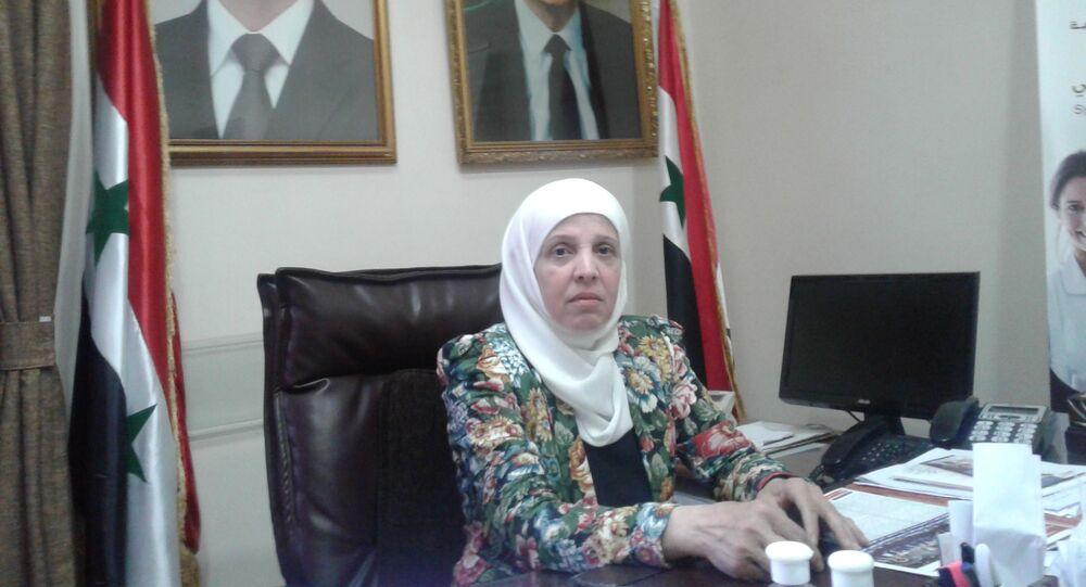 الدكتورة وفاء كيشي نقيب صيادلة سوريا