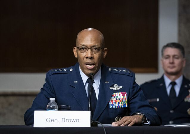 قائد سلاح الجو الأمريكي تشارلز براون