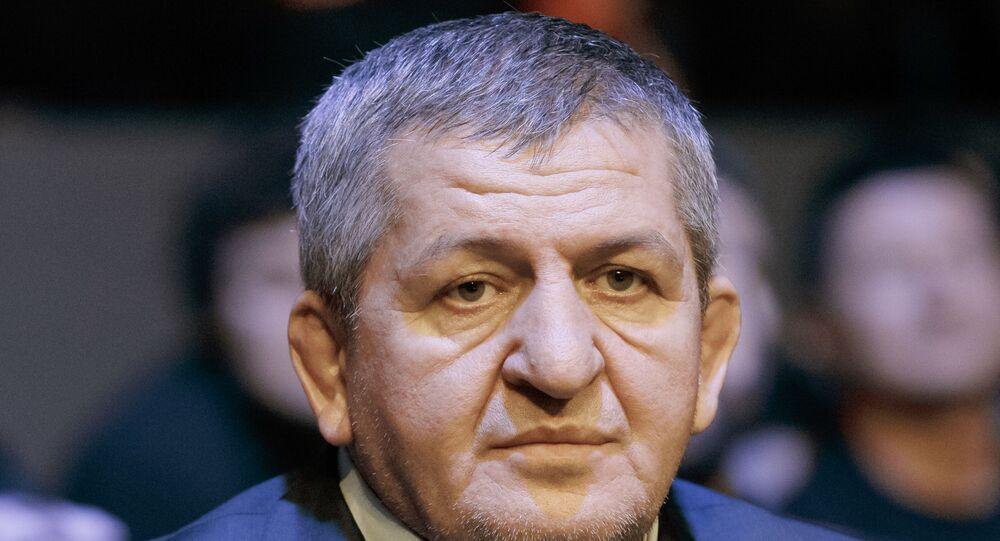 والد حبيب عبد المنافنورمحمدوف