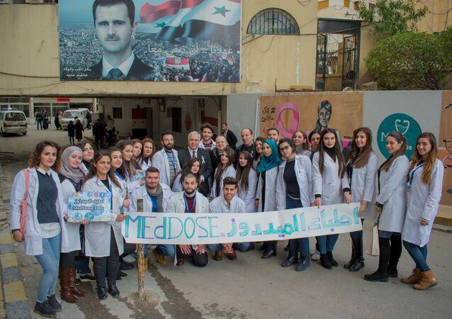 أطباء الميد دوز مبادرة تطوعية سورية للاهتمام بالسوريين والعرب في مواجهة كورونا