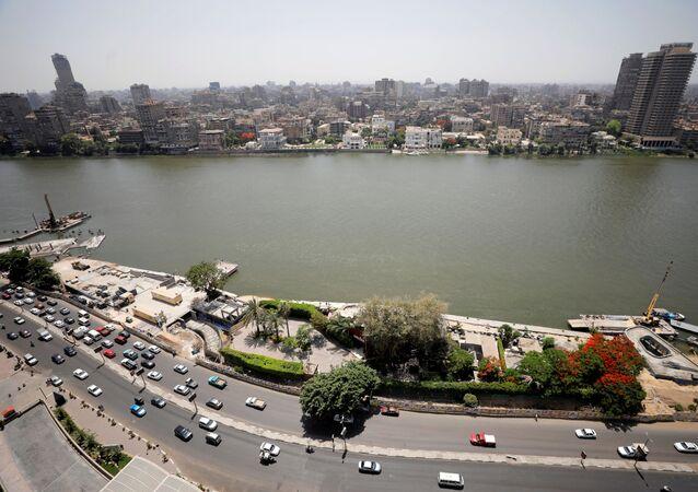 نهر النيل، القاهرة، مصر