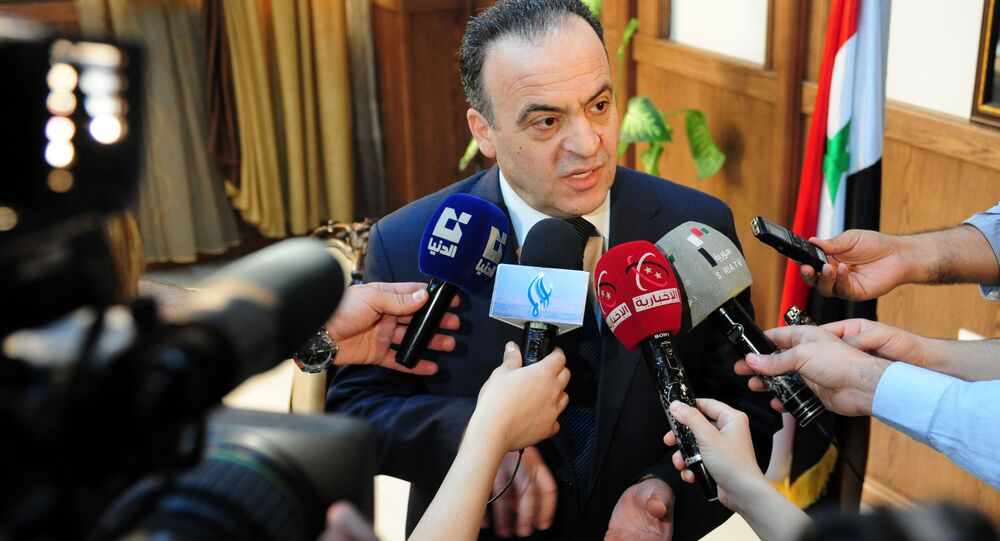 رئيس الوزراء السوري عماد خميس، 2013