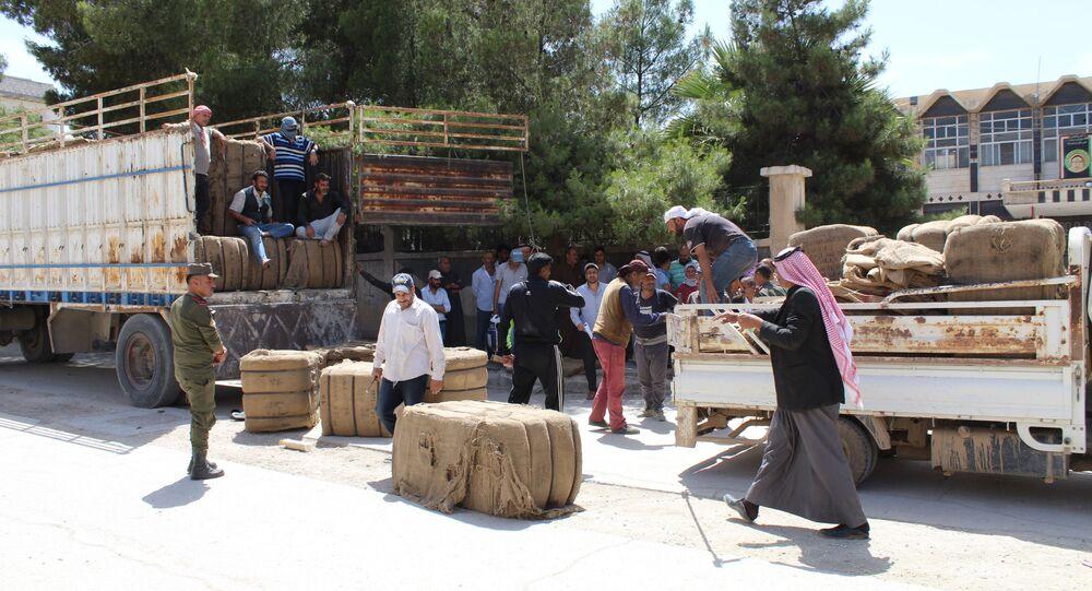 تسويق القمح شمالي شرق سوريا