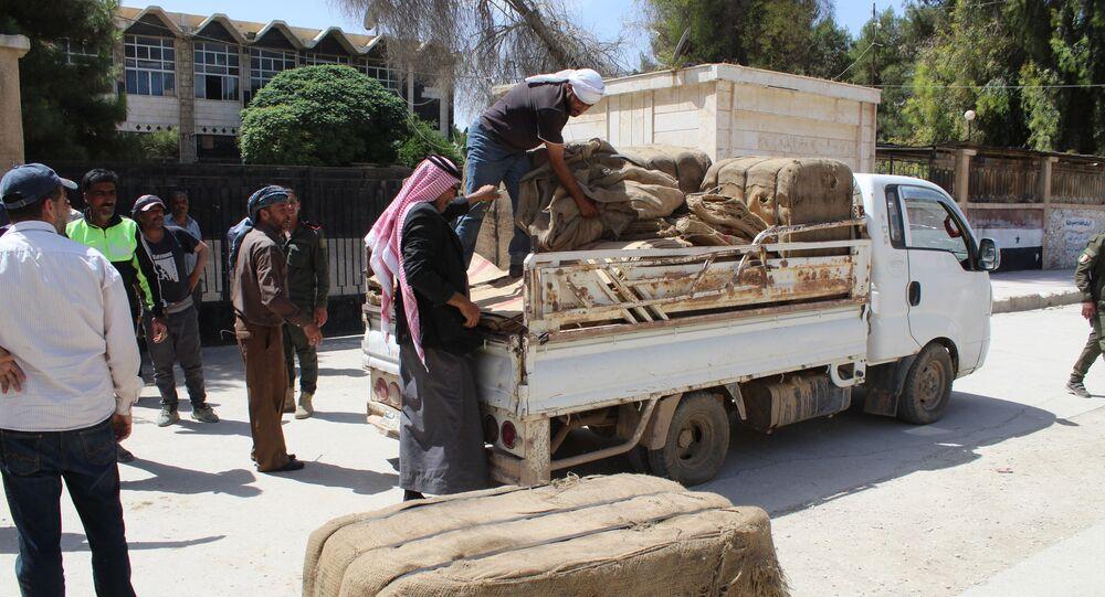 تسوريق القمح شمالي شرق سوريا