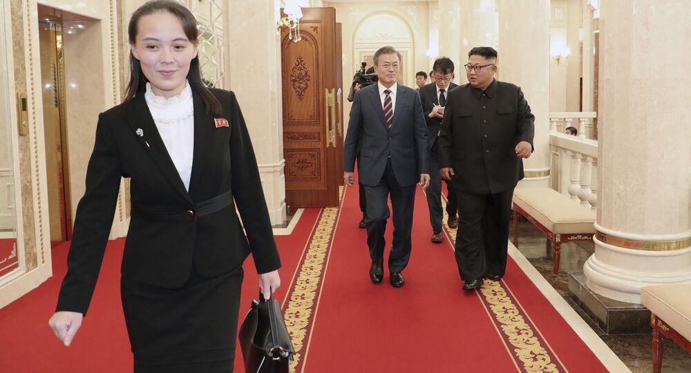 شقيقة زعيم كوريا الشمالية كيم يو جونغ، 2018