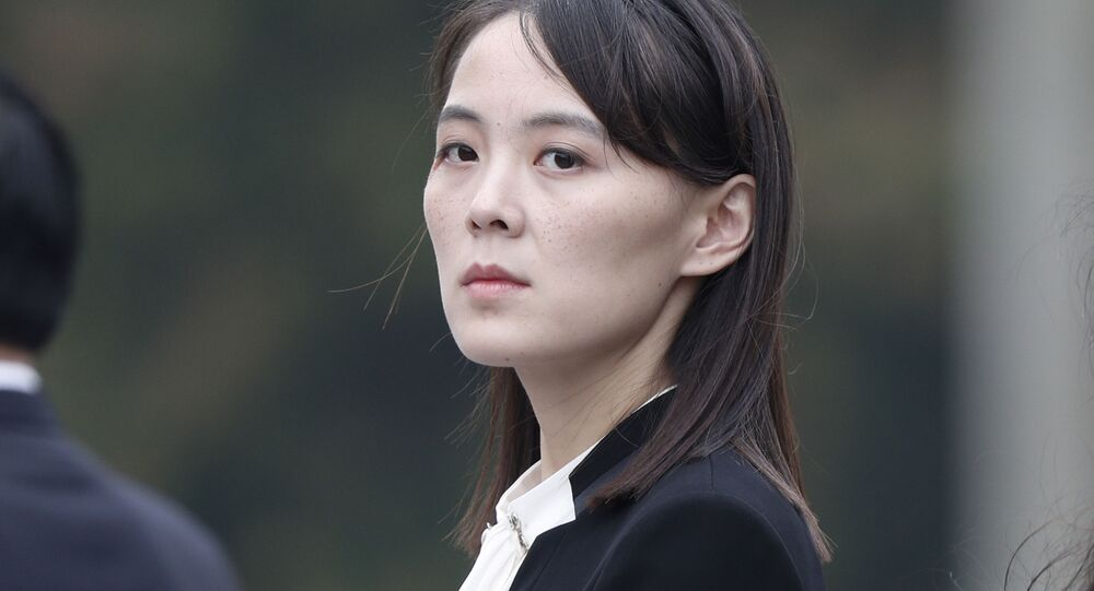 شقيقة زعيم كوريا الشمالية كيم يو جونغ، 2019