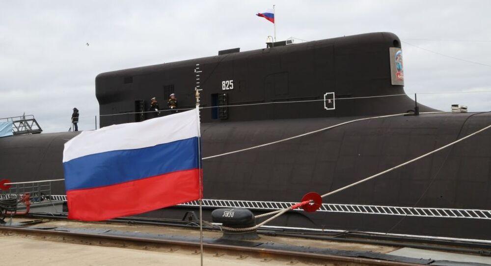 الغواصة النووية من طراز كنياز فلاديمير تدخل الخدمة في البحرية الروسية، 12 يونيو 2020
