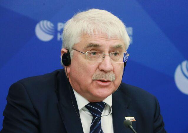 نائب رئيس لجنة الدوما الروسي للعلاقات الدولية، ألكسي تشيبا