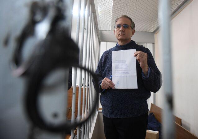 المواطن الأمريكي بول ويلان الذي تم توقيفه في موسكو بتهمة التجسس
