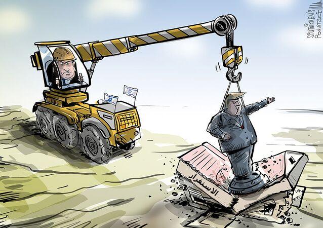 إقامة هضبة ترامب في الجولان