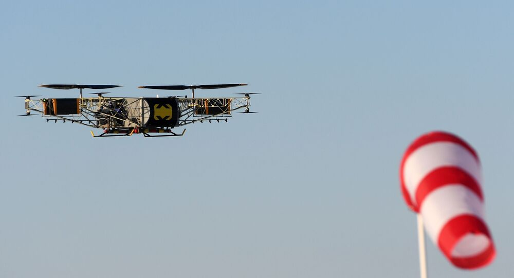 طائرة مسيرة - درون