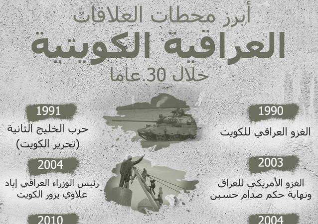 أبرز محطات العلاقات العراقية الكويتية خلال 30 عاما