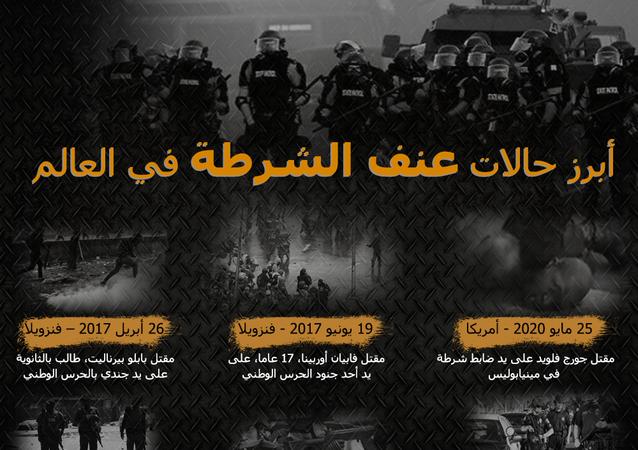 أبرز حالات عنف الشرطة في العالم