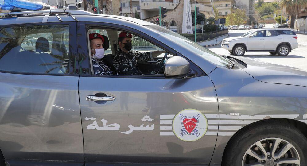 سيارة شرطة في لبنان