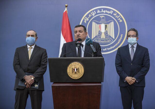 وزير الإعلام المصري أسامة هيكل