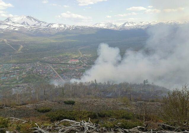 حرائق في غابات كامتشاتكا، روسيا 18 يونيو 2020