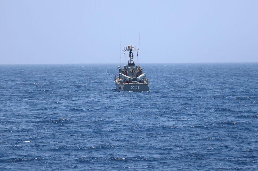 تدريبات القوة البحرية التابعة للجيش الإيراني في منطقة شمالي المحيط الهندي وبحر عمان، 17 يونيو/ حزيران 2020