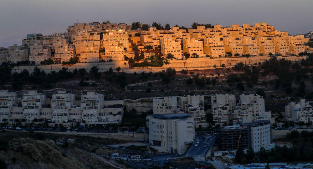 مستوطنات الضفة الغربية المحتلة، مستوطنة هار هوما في القدس الشرقية، 18 يونيو 2020