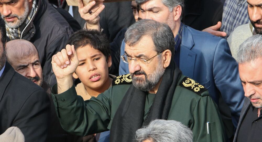 أمين مجمع تشخيص مصلحة النظام في إيران، محسن رضائي