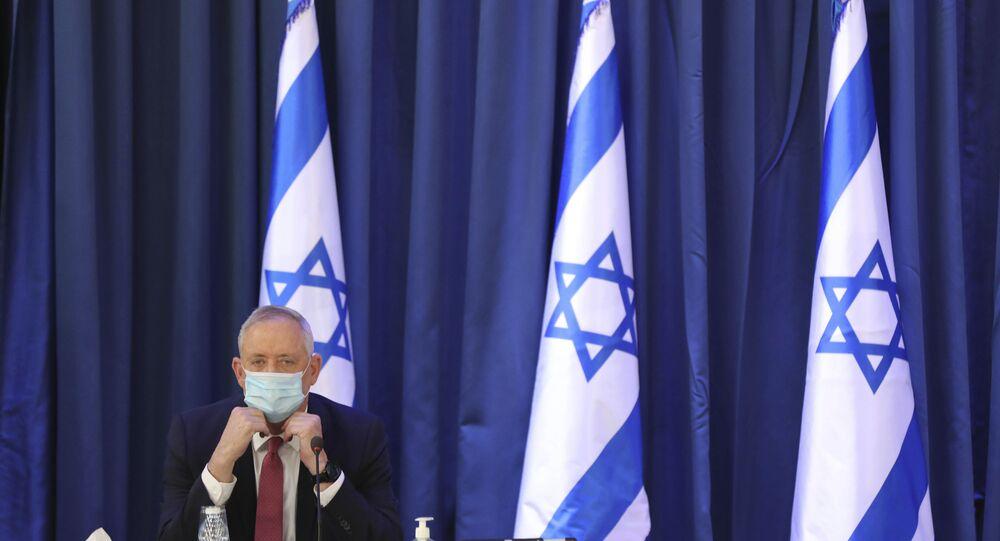 وزير الدفاع الإسرائيلي بيني غانتس، المستوطنات، الضفة الغربية، 21 يونيو 2020