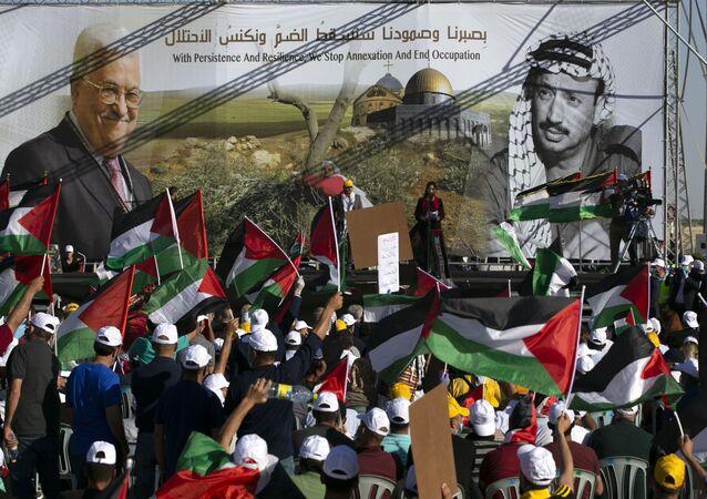 احتجاجات ضد خطة الضم الإسرائيلية، المستوطنات، الضفة الغربية، 22 يونيو 2020