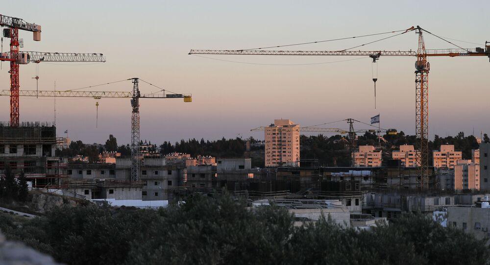 مستوطنة رمات شالوم شرق القدس، المستوطنات، الضفة الغربية، 22 يونيو 2020