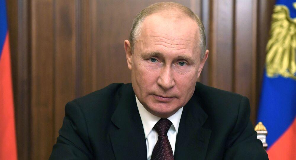 كلمة الرئيس فلاديمير بوتين حول الوضع في روسيا على خلفية تفشي فيروس كورونا، 23 يونيو 2020
