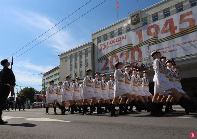 الاحتفال بيوم النصر في كالينينغراد الروسية