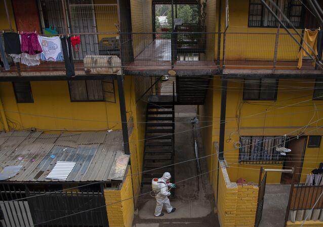 أمريكا اللاتينية بؤرة تفشي فيروس كورونا - تشيلي يونيو 2020