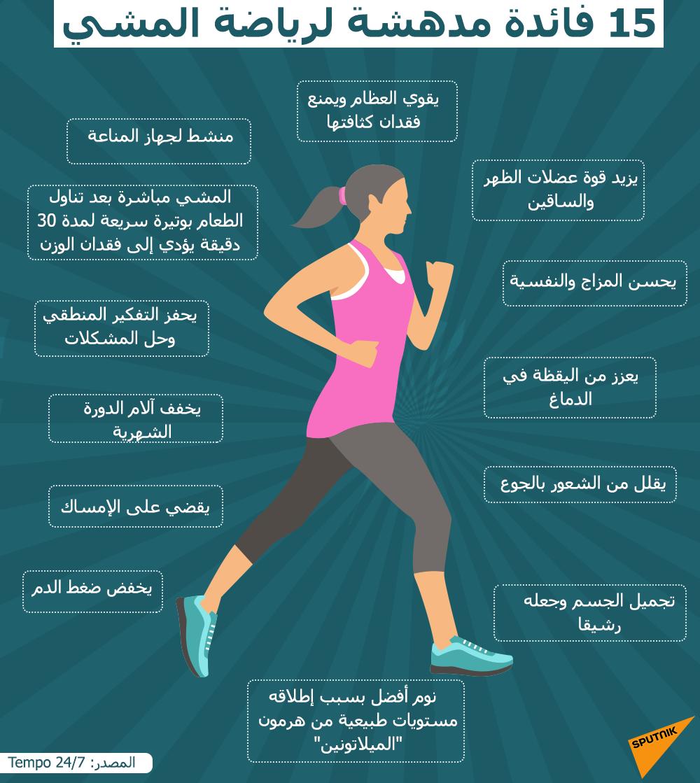 15 فائدة لرياضة المشي