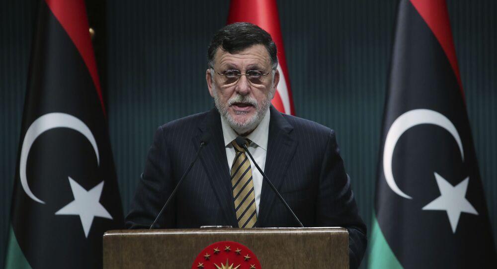 رئيس حكومة الوفاق الليبية فايز السراج، 4 يونيو 2020